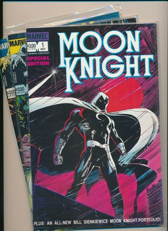 MARVEL Set of 3-MOON KNIGHT Special Edition #1-#3  VF/NM (PF737)