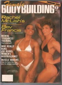 Female Bodybuilding #1 12/1986-JCarla Dunlap-Marjo Selin-pix-info-G