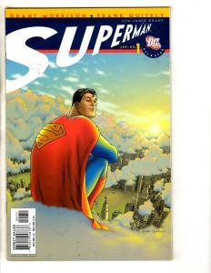 Lot Of 7 All Star Superman DC Comic Books # 1 2 4 6 7 8 11 Batman Flash MK10