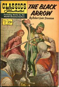 Classics Illustrated #31 1968-Gilberton-The Black Arrow-HRN 166-FN