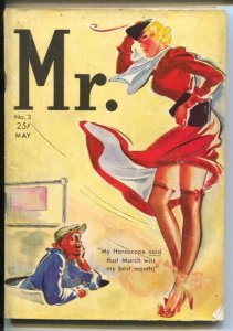 Mr. #3 5/1938-Exposed-silk stockings cover-spicy pulp thrills-FN