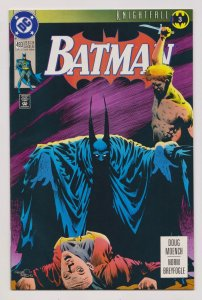 Batman #493 Knightfall (DC, 1993) VF/NM