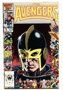 Avengers #273 Black Knight anniversary cover-Marvel VF/NM