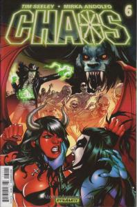 Chaos #6 VF/NM; Dynamite | save on shipping - details inside