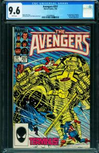 AVENGERS #257 CGC 9.6 1st Nebula Marvel comic book 2025896004
