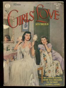 GIRLS LOVE STORIES #2 1949-ROMANCE-EARLY PHOTO COVER IS G