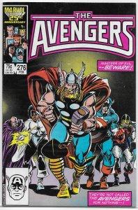 Avengers   vol. 1   #276 VG