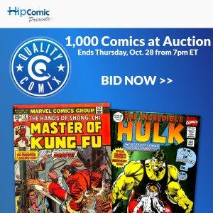 Quality Comix Auction Event #71
