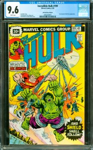 Incredible Hulk #199 CGC Graded 9.6 Doc Samson & Nick Fury appearance.