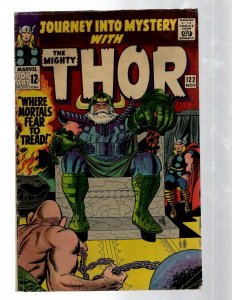 Journey Into Mystery # 122 FN Marvel Comic Book Thor Loki Odin Asgard Sif RB8