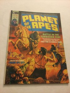 Planet Of The Apes 2 Vf Very Fine 8.0 Curtis Magazine