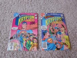 Superman presents the Krypton Chronicles #1 & #3 VF (8.0) 2 comics (662J)