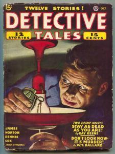 Detective Tales Pulp October 1946- grenade cover G