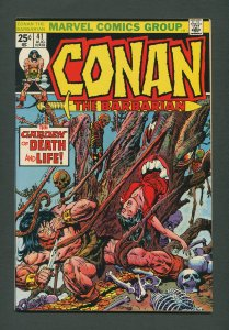 Conan The Barbarian #41 /  9.4 NM  /  September 1974