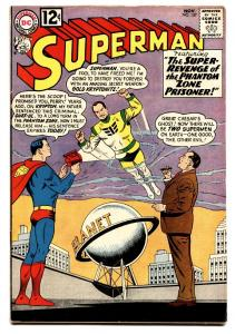 Superman #157 comic book 1962- Gold Kryptonite- Mon-el Lightning Lad VF