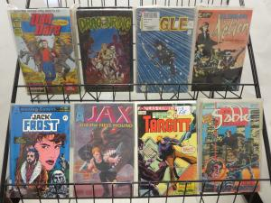 Action Adventure Comics SWB #ES1 Lot of 28Diff Series Aircel Eternity First SLG+