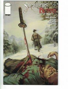 Samurai's Blood #4 signed by Owen Wiseman - Image Comics