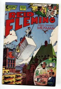 Reid Fleming, World's Toughest Milkman #1 1986-David Boswell-Eclipse  vf/nm