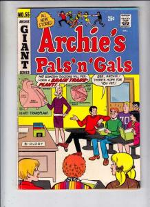 Archie's Pals 'n' Gals #55 (Dec-69) FN/VF Mid-High-Grade Archie, Betty, Veron...