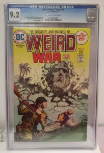 Weird War Tales, #34, Feb. 1975 CGC graded 9.2