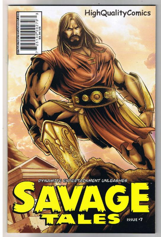 SAVAGE TALES #7, NM, Fabiano Neves, Red Sonja, Femmes, 2007, more RS in store