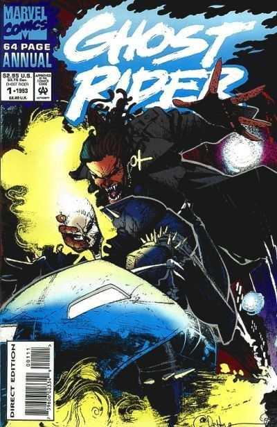 Ghost Rider #3 FN 1990 Stock Image