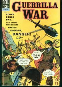 GUERRILLA WAR #14 FINAL ISSUE 1966   VIET NAM  VIOLENCE VG