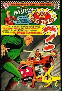 HOUSE OF MYSTERY #165-ROBOT COVER-DC VG