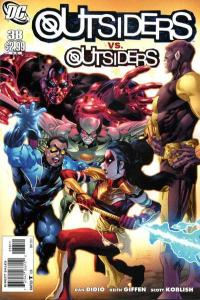 Outsiders (2009 series) #38, NM (Stock photo)