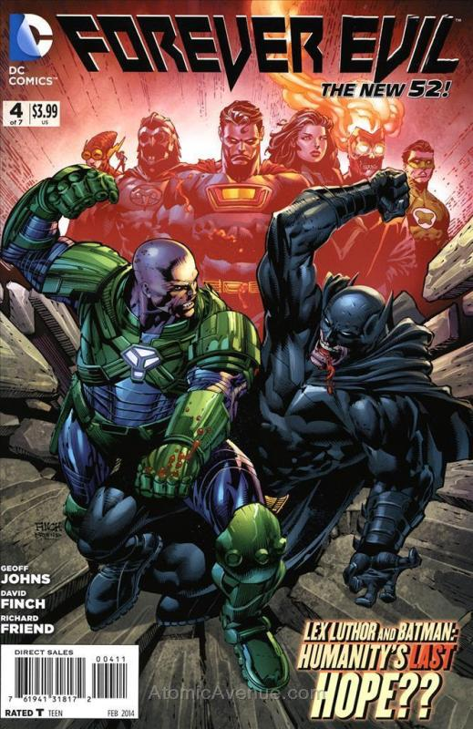Forever Evil #4 VF/NM; DC | save on shipping - details inside