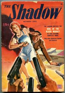 The Shadow Pulp October 1943- King of the Black Market VG