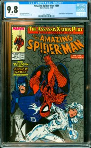 Amazing Spider-Man #321 CGC Graded 9.8 Paladin & Silver Sable appearance.