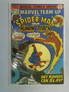 Marvel Team-Up #39 Spider-Man with Human Torch 6.0 FN (1975)