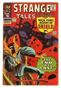 Strange Tales 146   Last Ditko Doctor Strange