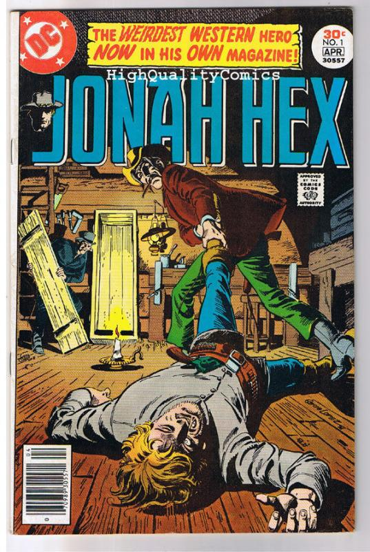 JONAH HEX #1, VF, Scar face, Western, Gladiator ,1977, more JH in store