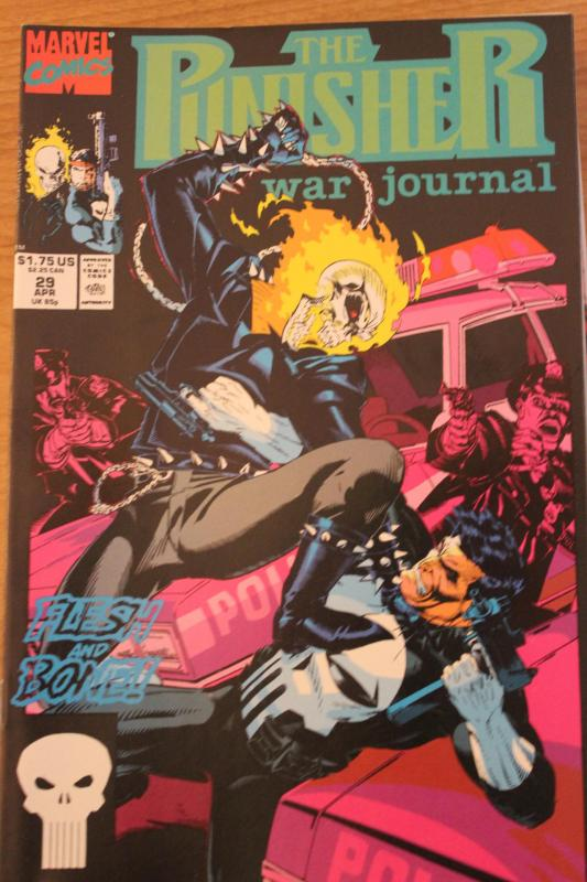 The Punisher War Journal 29 NM
