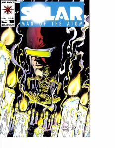 Lot Of 2 Solar Man of the Atom Valiant Comic Book #21 22  AH12