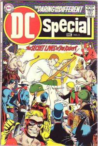 DC Special #5 (Dec-69) FN- Mid-Grade Sgt. Rock, Fire Hair, Hawkman, Hawkgirl,...