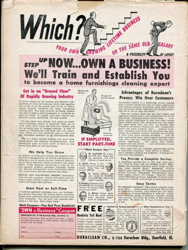 Adventure 8/1958-Popular-Mickey Spillane-hardboiled-cheesecake-G
