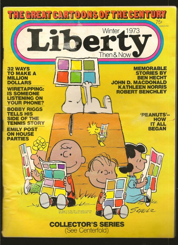 Liberty Then and Now Magazine Winter 1973 Vol 1 No 11 Salvage Please Read Note