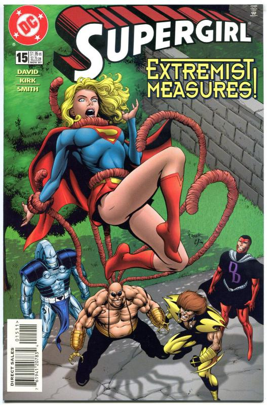 SUPERGIRL #15, NM, Good Girl, Twilight Gods, 1996, Peter David, more DC in store