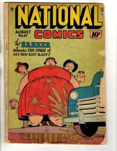 National Comics # 67 VG Quality Comic Book Golden Age Barker Ali Ben Riff Ra JL3