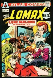 POLICE ACTION #1 1975-LOMAX-PLOOG ART- VF
