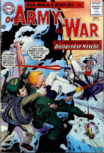 Our Army at War #154 (1965)
