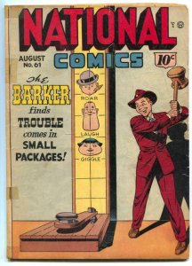 National Comics #61 1947- Barker- Quicksilver VG-