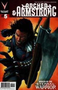 Archer & Armstrong (2012 series) #5, NM + (Stock photo)