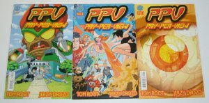 PPV #1-3 FN/VF complete series - pay-per-view - antarctic press manga comics set