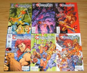 Thundercats #0 & 1-5 VF/NM complete series ALL A VARIANTS wildstorm set 2 3 4