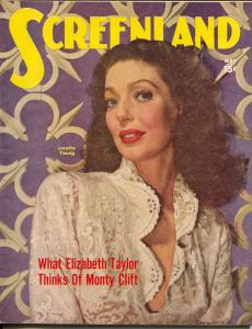 ScreenLand-Loretta Young-Elizabeth Taylor-Monty Clift-Joan Crawford-May-1950