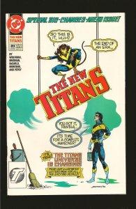 DC Comics The New Teen Titans No 89 August 1992